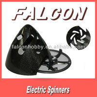 Carbon fiber fairing for RC airplane 80mm black