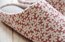 Customized women winter indoor slipper ornament for slipper