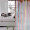 Fabric home decorative turkey string curtain