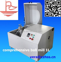 lab planetary ball mill double roll crusher chemical milling machine blending equipment ball grinding crushing device