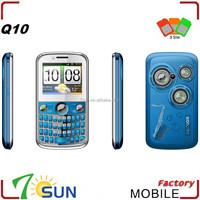 Q10 mobile phone 3 sim card