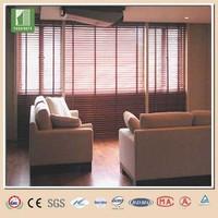 2014 China foam wooden venetian blind,slip blind flange