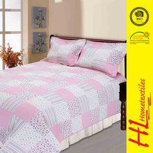 welcome ODM digital printed knitted fabrics waterproof bedspreads