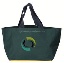 recyclable polyester folding bags/ polyester zipper tote bag nylon/polyester drawstring bags