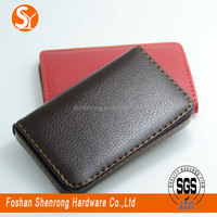 wholesale and retail PU leather credit ID card case business name card holder