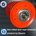 Changzhou baoxin producto de elevación polea para grúa de carga