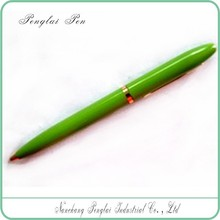 custom promotional pen with logo slim metal twist open metal logo printing pen