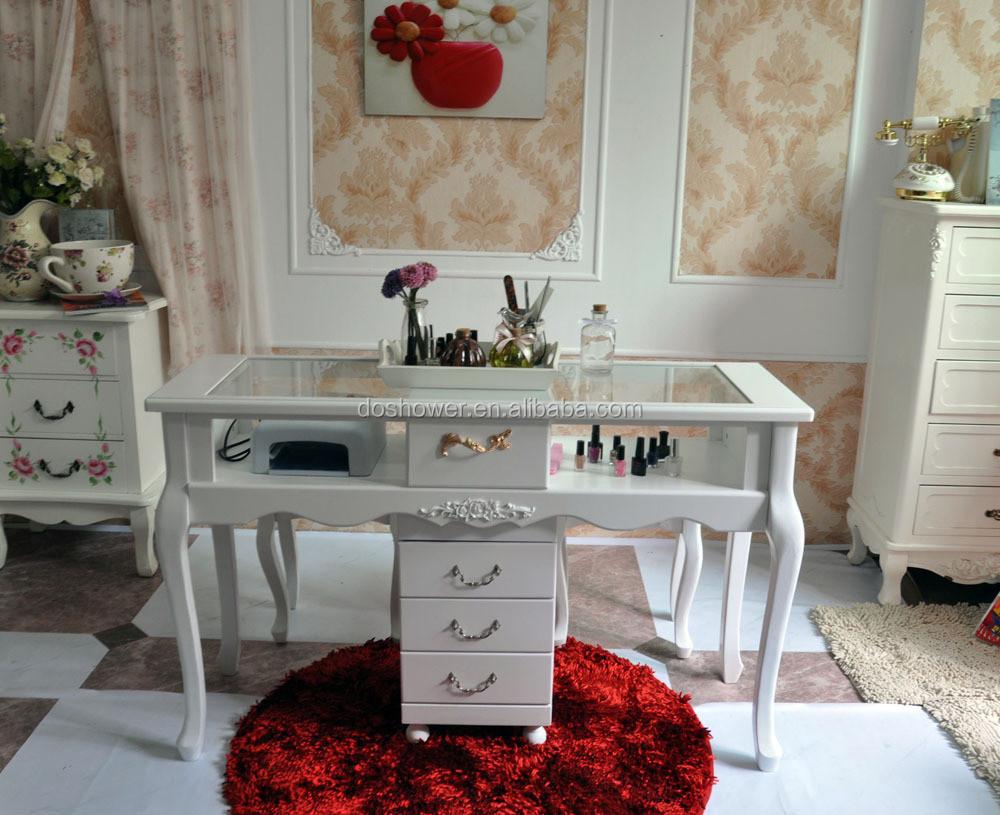 Doshower antique nail table de bar ongles meubles pour for Table de vente