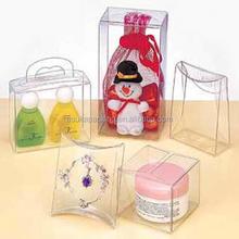 plastic PET /PVC good quality gift box