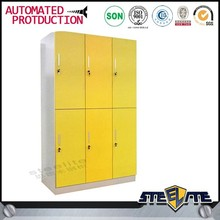 6 door wardrobe modern design beauty metal cabinets freight to indonesia