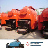 6 Ton fire tube & water tube steam boiler manufacturer for the global market