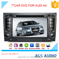 AGS special 7'' touch screen car dvd player for AUDI A4