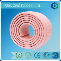 rubber sponge strip corner protector/Glass table edge cushion