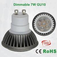 7W GU10 LED High lux 1000lx 450lm led spotlight