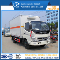 Economic Product 4x2 used refrigeration units for trucks on sale