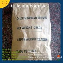 China suppier CAS 544-17-2 organic salt calcium formate 98 (calcium diformate 98)