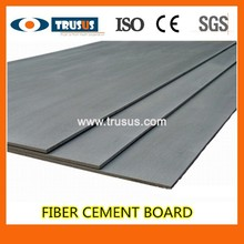 Fiber Cement Board 100% Free Of Benzene Applied For Wall Partition