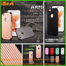 simple plastic mobile phone case compatible brand love mei luggage case for iphone 6/6s