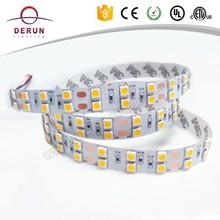 Two row pcb 15mm width 5050 flexible led strip 120led/m