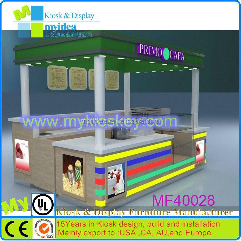 China Made Free Design Fast Food Kioskfast Carts