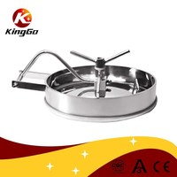 Stainless steel sanitary tank manhole cover