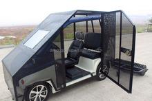 M 3 asientos 4 wheel drive eléctrico del carro de golf, coches eléctricos para pelota de golf pick up