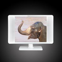"""Factory 17""""/17 inch flat thin wall mounted LCD TV"""