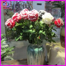 wholesale new design winter rose flower artificial