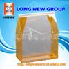 E Professional cometic zipper book Care products clear plastic bag