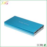 Ultra slim mobile phone 5000 mAH led torch light portable power bank for laptop