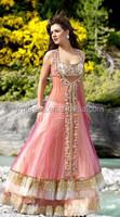Hot Sale Sleeveless Beaded Embroidery Pakistani Prom Dresses 2015 MP123
