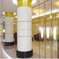 crystal white indoor decorative columns