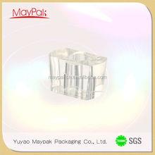 alibaba china wholesale zhejiang Maypak plastic cap glass parfum bottle with surlyn cap