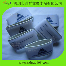 Custom logo printed Alpine velcro ski carry straps/velcro ski ties
