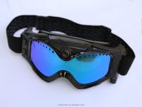 130 degree Wide angle Sport 720p Camera Skiing Goggles
