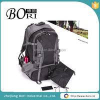 detachable solar travel camping backpack bag