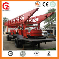 China supplier 1000m depth tractor mounted water well drill rig