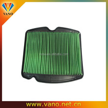 high performance air filter green CBF-150 motorcycle air filter