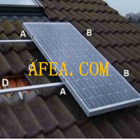 pv solar panel bracket for home sun power supporting