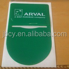 2015 inventive car tax disc holder with 4c UV printing