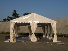 6m event tent for car driving test