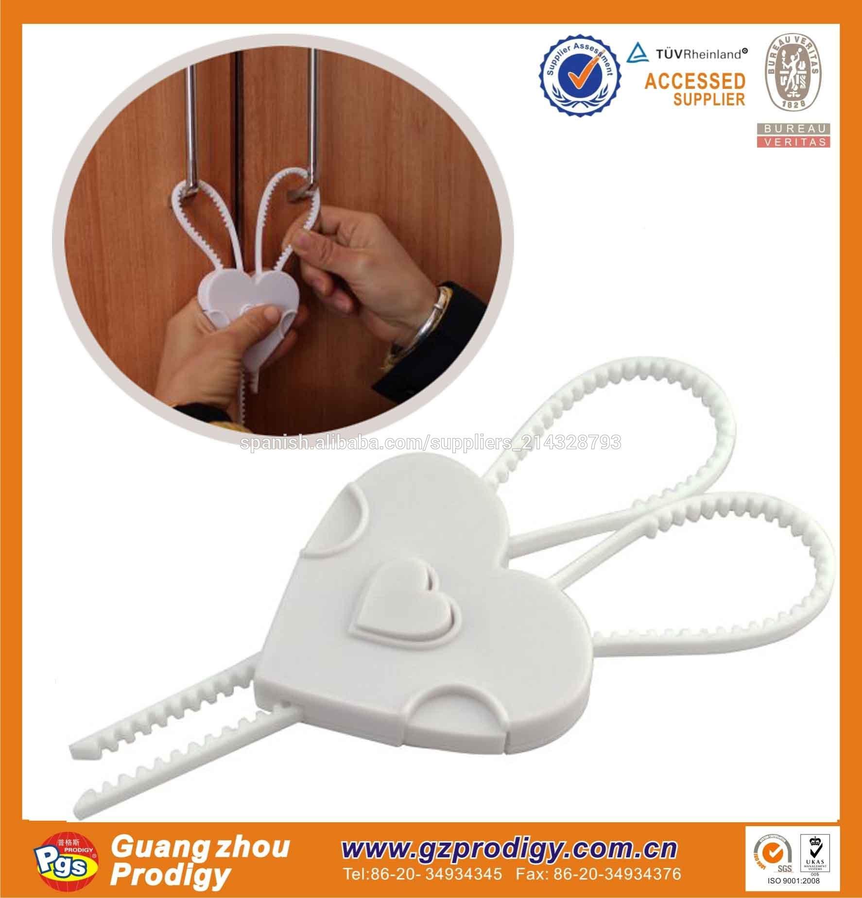 En71 certificado seguro flexi- cerraduras/bebé seguro de bloqueo
