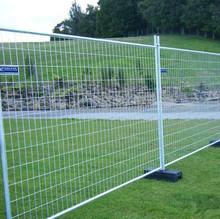 Australia or Canada Retractable Temporary Fence/Movable Fence/Galvanized Temporary Fencing(factory)