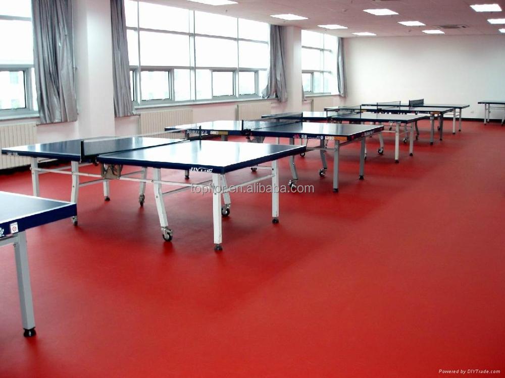 Topflor Wood Like Indoor Table Tennis Court Flooring Buy Wood