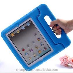 New Kids Shock proof Stand Handle Eva Foam Cover Case For ipad mini 1 2 3