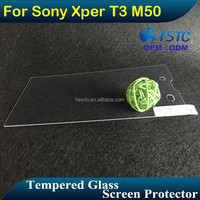 Hottest Mobile Phone accessory Glass Film for Sony Xperi T3, Toughened Front Glass Protector for Sony T3, Protective Film Guard
