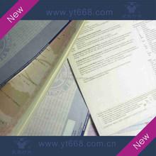 Professional certificate printing
