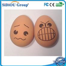 egg printed diy bouncing ball