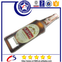 cheap wholesale superior quality bottle shaped metal bottle opener
