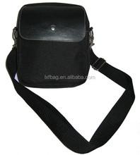 Newest hot custom logo black shoulder camera bag 2015